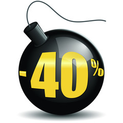 Bombes promotions -40%