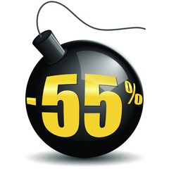 Bombes promotions -55%
