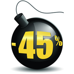 Bombes promotions -45%