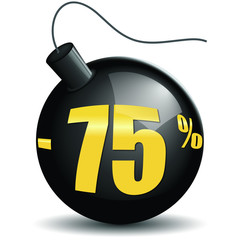 Bombes promotions -75%