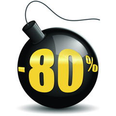 Bombes promotions -80%