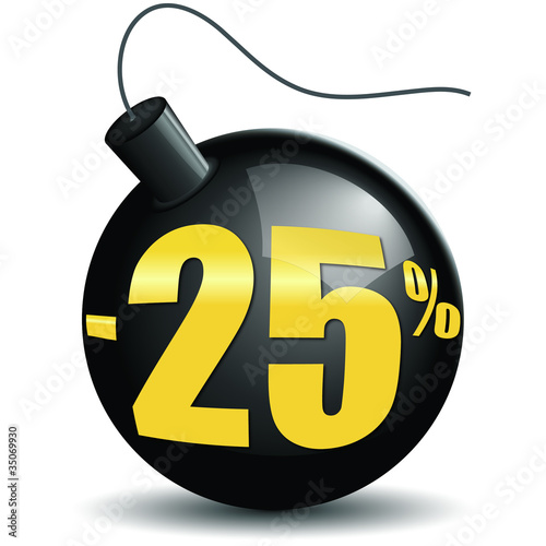 Bombes promotions -25%