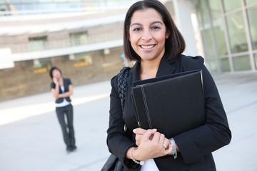 Attractive Hispanic Business Woman