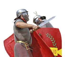 Batalla medieval.