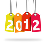 Fototapety Happy new year 2012