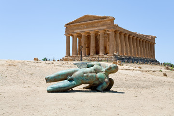 Temple of Concordia in Valley of the Temples, Agrigento