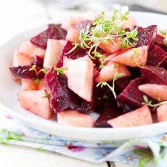 frischer rote Beete Salat