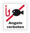 """Schild """"Angeln verboten"""""""