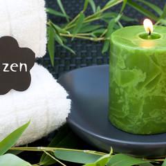 Zen avec bambou