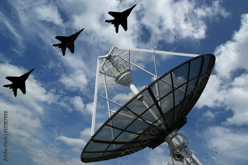 Modern Russian radar is designed  and automatic tracking of targ
