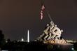 Leinwandbild Motiv US Marine Corps Memorial in Washington DC USA