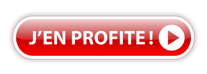 Bouton Web J'EN PROFITE (bons plans vente flash offre spéciale)