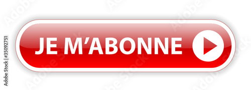 Bouton Web JE M'ABONNNE (s'abonner inscription abonnement rouge)