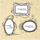 Vector-set-vintage-frames