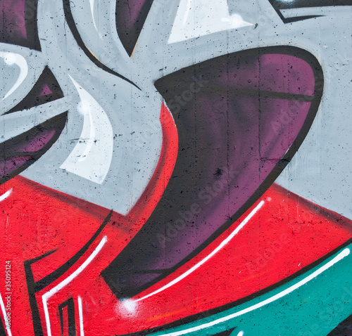 Abstract detail of graffiti - Perfect for backdrop or background