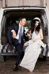 Disenchanted bride cheap wedding