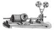 A clockwork gramophone - c, cylinder, m, mouth, vintage engravin