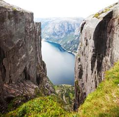 Fototapeta 3D norweski widok