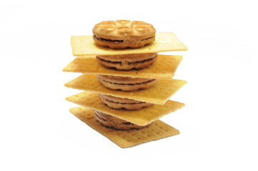 Pile of Biscuits