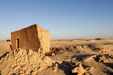 Haus in Wüste