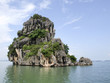 Rock formations of Halon Bay, Vietnam