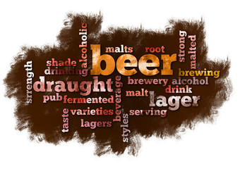 Beer Word Cloud