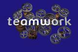 Teamwork - 3D - isoliert