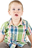 Kid posing and mocking poster