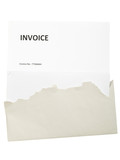 Invoice letter poster