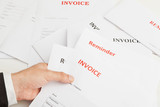Business invoices poster