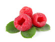 Three raspberries