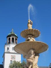 springbrunnen in salzburg
