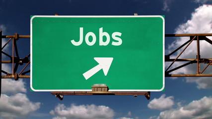 Jobs Roadsign