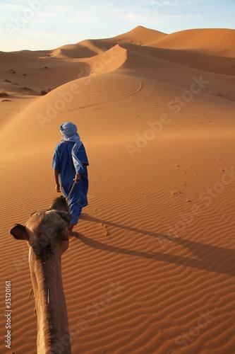 Karawane und Tuareg
