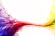 Checked multicolor tube