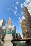 Scenic Chicago Riverwalk poster