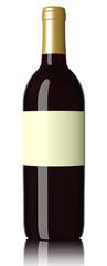 Weinflasche mit Kapsel