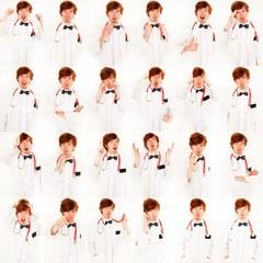 Collage von Arzt