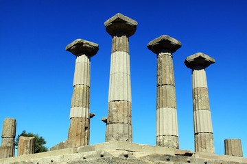Ruined Athena Temple in Assos