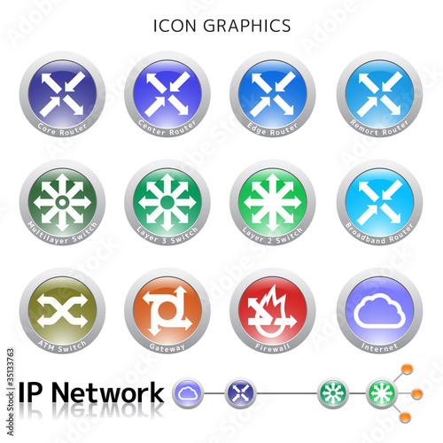 Icon Graphic ( IP Network )