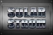 Solarstrom Schild