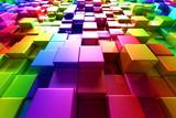 Colorful cubes - 35141558
