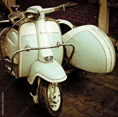 Naklejka scooter