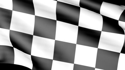 Formula One Flag moving