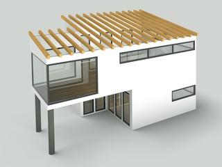 Wohnmodell - Einfamilienhaus