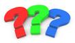 Die drei bunten Fragezeichen