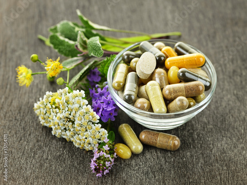 Herbal medicine and herbs - 35154311