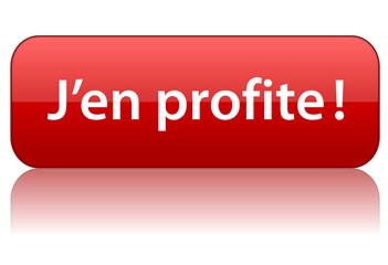 Bouton Web J'EN PROFITE! (offre spéciale bons plans vente flash)