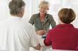 Couple senior - Consultation