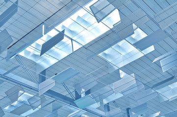 Glas Dachkonstruktion Airport